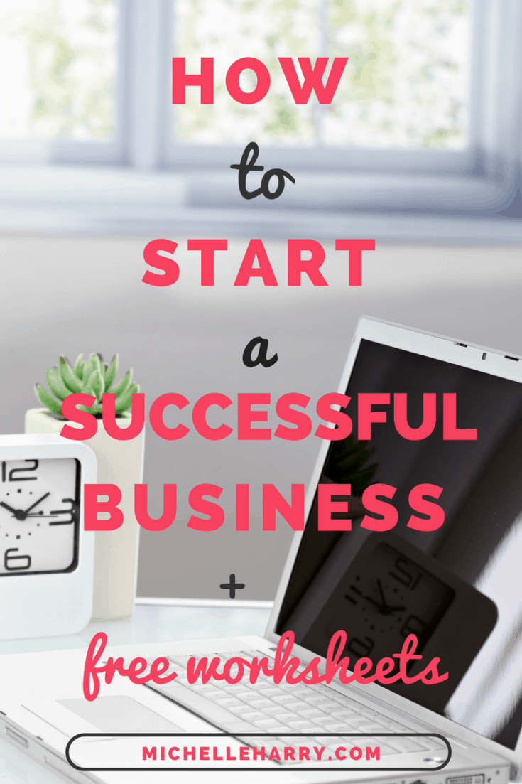 Are you a new or aspiring female entrepreneur? Would you like to start a successful business? Are you feeling stuck trying to start a business? Do you have too many business ideas? Need some tips to help you get started? This post has some tips to help you get your business of the ground. Free worksheets included! Check it out now.