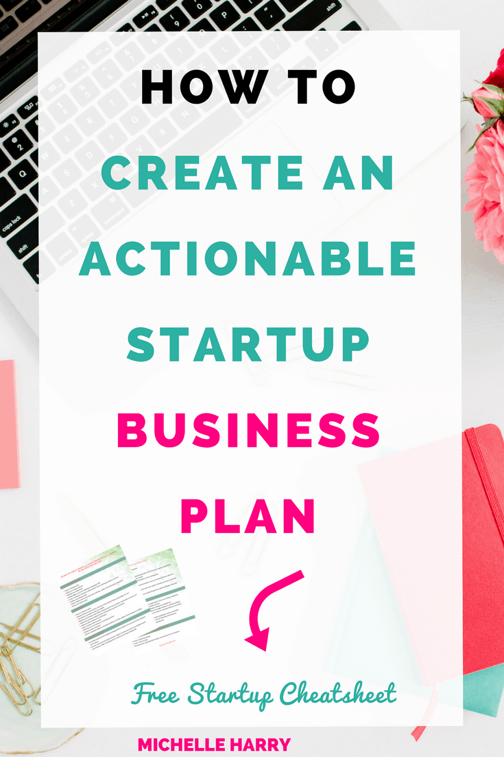 Startup business plan. Writing a business plan can be overwhelming. If you are new entrepreneur and need some tips to create your business plan, click through to my website for some ideas. Start your business with the free cheat sheet that's included. Check it out now!