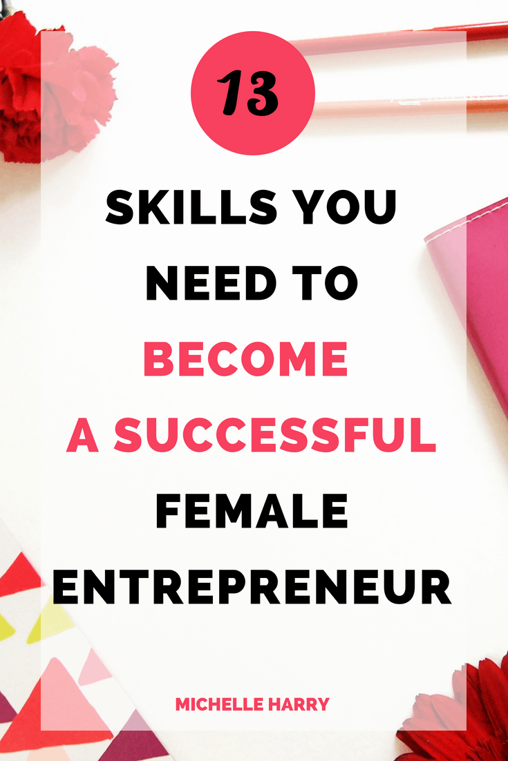 Business tips for women. Entrepreneurship can be hard if you don't have the right skills. You will struggle to create the right products or make money in your business. Growing your social media audience and other business tips to help you become a successful female entrepreneur. Check out the post for some ideas!