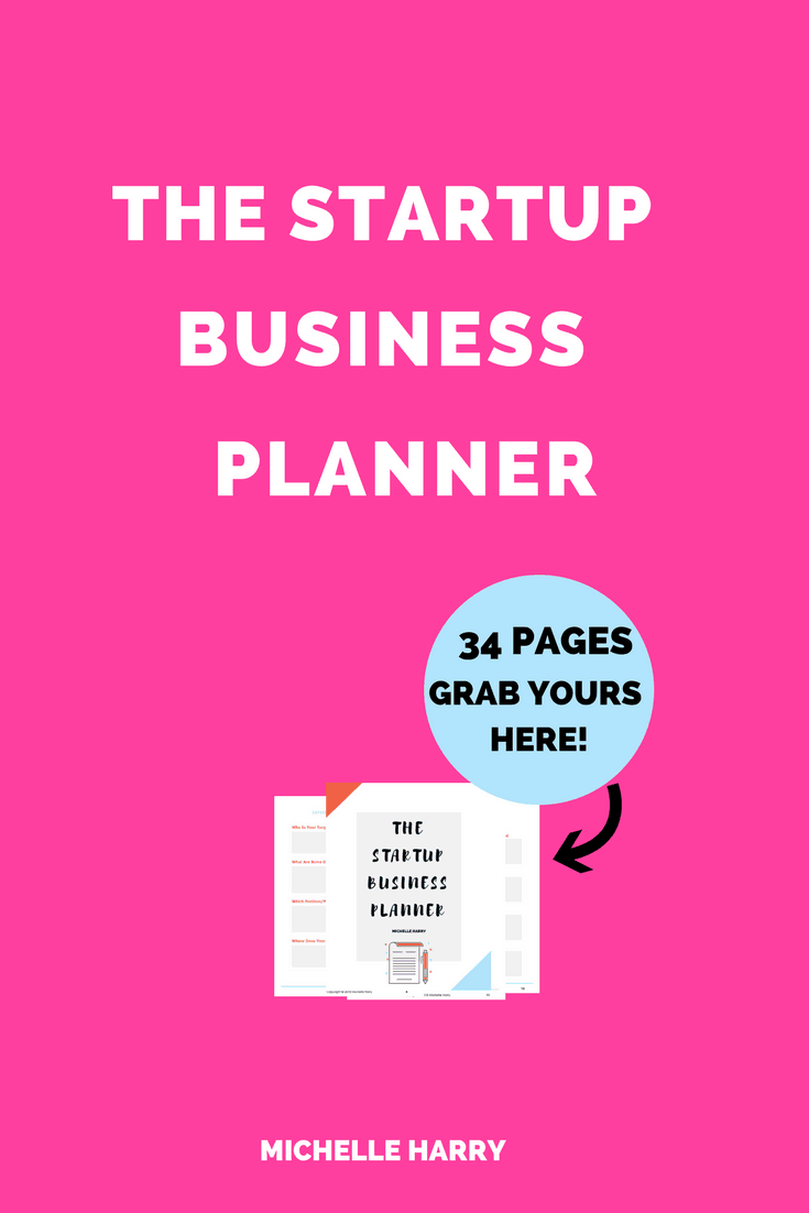 Business Planner. Are you starting a busisness? Do you need a guide to help you with your business planning? This printable Startup Business Planner will help you achieve your goal of becoming a girl boss. Click through to grab your copy!