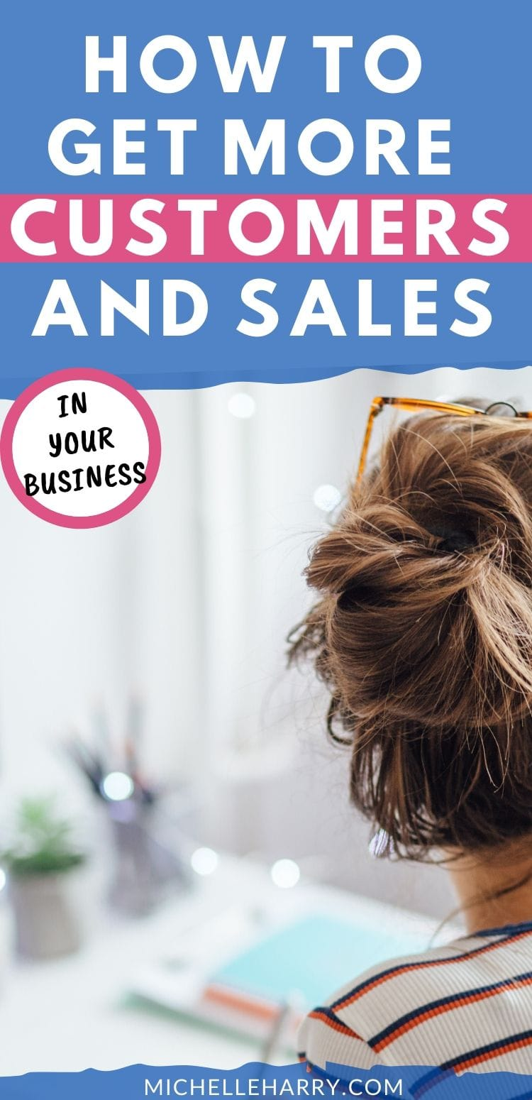 how to increase customers and sales in your business